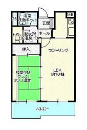 第三高島コーポ[205号室]の間取り