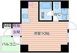 カサデアートZERO[4階]の間取り