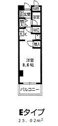 甲子園 ガーデンハウス[2階]の間取り