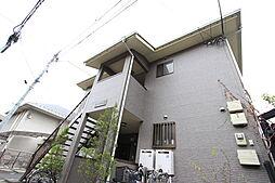 千葉県柏市中央1丁目の賃貸アパートの外観