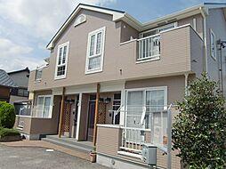 愛知県豊田市永覚新町1丁目の賃貸アパートの外観