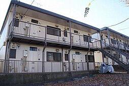神奈川県横浜市青葉区松風台の賃貸アパートの外観