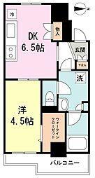 エターナル桜台[7階]の間取り