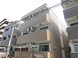 大阪府大阪市東淀川区下新庄1丁目の賃貸アパートの外観