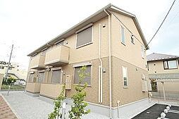 東京都羽村市羽加美1丁目の賃貸アパートの外観