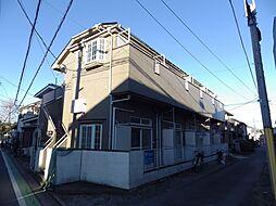 埼玉県所沢市北有楽町の賃貸アパートの外観