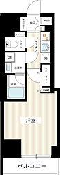 ブレシア日本橋蛎殻町[5階]の間取り