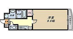 エテルノソーレ[3階]の間取り