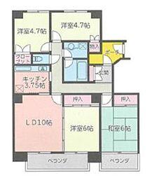 東武野田線 大宮公園駅 徒歩9分の賃貸マンション 1階4LDKの間取り