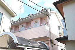 神奈川県相模原市中央区並木3丁目の賃貸アパートの外観