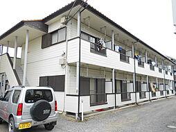 第二田辺コーポ[1階]の外観