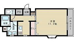 サン・マノワール[5階]の間取り