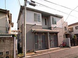 東京都中野区中野6丁目の賃貸アパートの外観