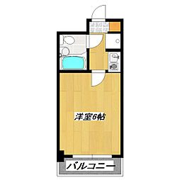 ライオンズマンション西新小岩[104号室]の間取り