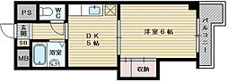 上新庄グランドハイツ北[4階]の間取り
