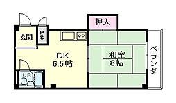 プレターレ6[2階]の間取り
