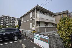 大阪府堺市東区南野田の賃貸アパートの外観
