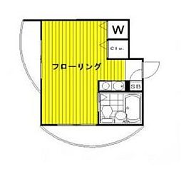 メゾンITO[201号室]の間取り
