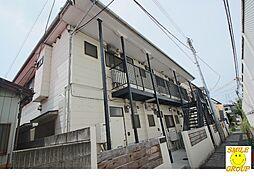 千葉県市川市高石神の賃貸アパートの外観