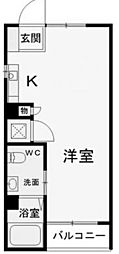 メゾンサンスプリング[2階]の間取り