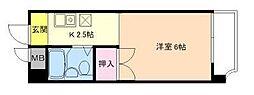 東洋ライオンズマンション野田[1階]の間取り