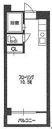 パンルネッククリスタル大濠III[703号室]の間取り