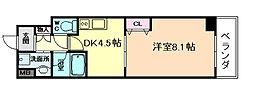 アレンダール梅田西[9階]の間取り