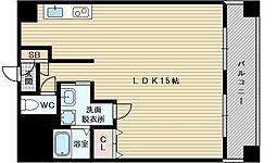 パレス東洋小松2号館[6階]の間取り
