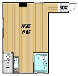ハウスグナーデ[2階]の間取り