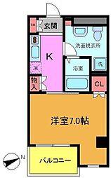 KANEMURAビル No.2[9階]の間取り
