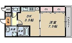 メゾンエクリュ[2階]の間取り