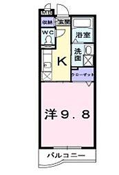 フジ ランデュール[2階]の間取り