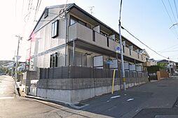 大阪府吹田市円山町の賃貸アパートの外観