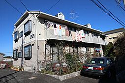 神奈川県川崎市多摩区菅北浦4丁目の賃貸アパートの外観