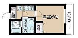 Belle Scene Itabashi -ベルセーヌイタバシ[2階]の間取り