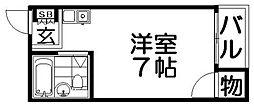 プレアール上神田[2階]の間取り
