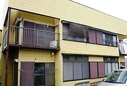 埼玉県草加市原町3丁目の賃貸アパートの外観