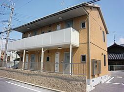 滋賀県長浜市四ツ塚町の賃貸アパートの外観