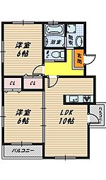 S.HOUSE[5階]の間取り