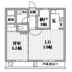 ATRIUM・T[4階]の間取り