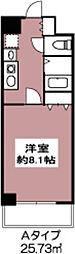 ドミール砧[4階]の間取り