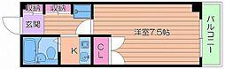 山村ハイツI号館[2階]の間取り