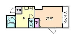 パークアベニュー桜ノ宮[3階]の間取り