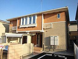 埼玉県入間市宮寺の賃貸アパートの外観