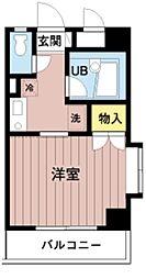 ひまわりマンション[205号室]の間取り