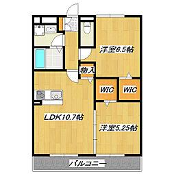 コンフォール瑞江V[1階]の間取り