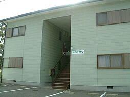 旅石ハイツA棟[202号室]の外観