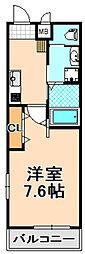 阪急伊丹線 伊丹駅 徒歩11分の賃貸マンション 1階1Kの間取り