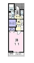 タイタン[1階]の間取り