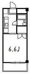 メゾン稲城[301号室]の間取り